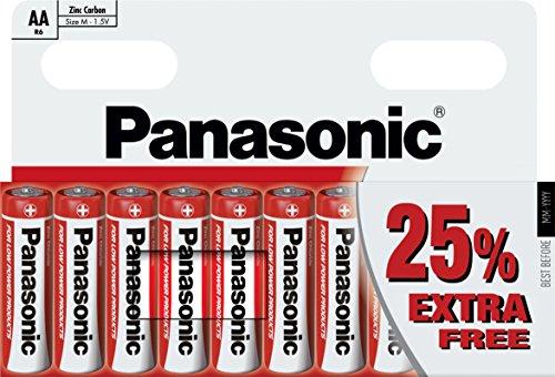 Panasonic AA R6 10 Stück Panasonic Clock