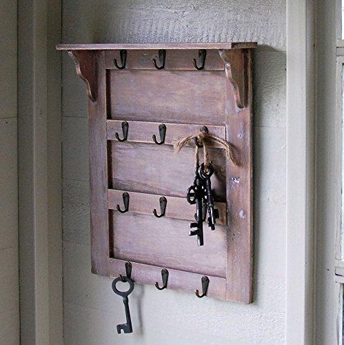 Traditionelle Vintage-Schlüssel Aufbewahrung Board Rack