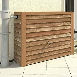 Réservoir mural Woody bois clair 350 L