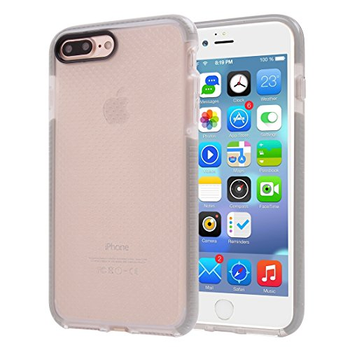 Hülle für iPhone 7 plus , Schutzhülle Für iPhone 7 Plus Basketball Textur Transparente TPU Schutzhülle ,hülle für iPhone 7 plus , case for iphone 7 plus ( Color : Pink ) Grey