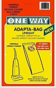 3X Adapta-bag Droit universel + Plus Sacs pour aspirateur