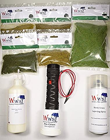 WWS - Kit de d�coration pour applicateur d'herbe micro statique