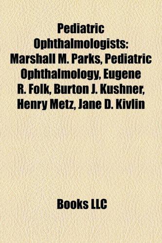 Pediatric Ophthalmologists