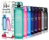 HoneyHolly Bottiglia d'Acqua Sportiva - 350ml, Senza BPA Borracce Tritan Borraccia a Prova di perdite con Filtro per Bambini,Scuola,Sport,Campeggio,Yoga,Palestra,Ciclismo