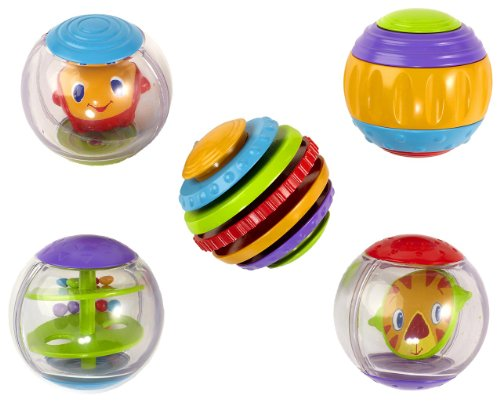 Bright Starts FBA_9079 - Shake&Spin activity balls