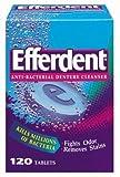 Efferdent Denture Cleanser, 120-Count Ta...