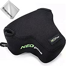 Negro Cámara Reflex Neopreno Protectora para Fujifilm X-E3.X-T20.X