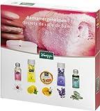 Kneipp, Set di prodotti profumati per il bagno, incl. olio per il corpo ai fiori di mandorlo (20 ml), gel doccia agli agrumi (20 ml), saponetta effervescente all'arancio e fiori di tiglio (80 g), bagnoschiuma alla lavanda (30 ml), olio da bagno all'eucalipto (20 ml)
