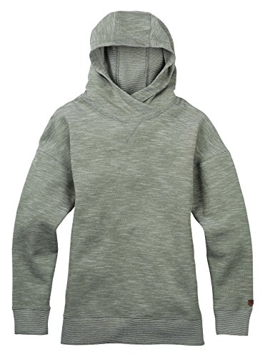 Burton Damen HIXON Pullover Hoodie Dusty Olive Heather, XS -