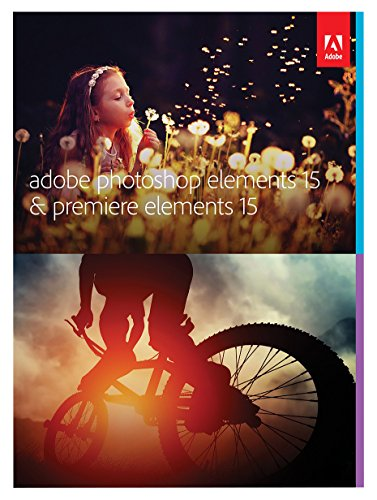 Adobe Photoshop Elements 15 & Premiere Elements 15 | Standard | PC | Download