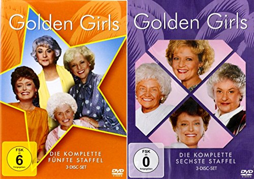 Golden Girls - Die komplette 5. + 6. Staffel (Criminal Minds Staffel Sechs)