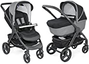 Chicco Duo StyleGo Up Stroller, Jet Black (0-3y)