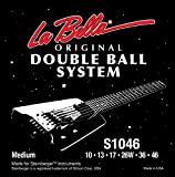 Labella LS1046 Jeu de Cordes à double boule pour Guitare Electrique 10/46 Regular