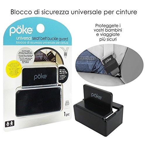 Poke 1489069 Cintura di Sicurezza, Nero