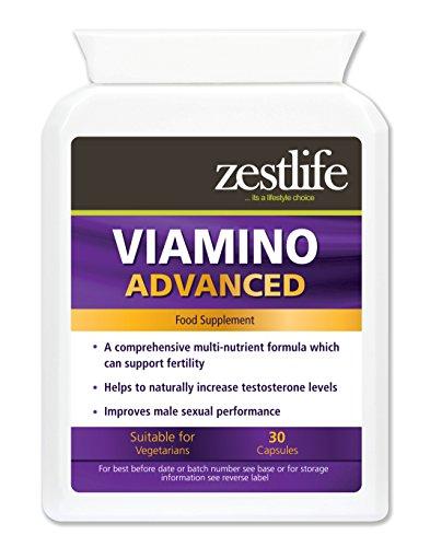 Viamino 30 Capsules Complément nutritionnel pour les hommes. Il s'agit d'une combinaison de L-Arginine, L-lysine, acétyl-L-carnitine, fenugrec, Maca, Zinc et L-citrulline Malate.