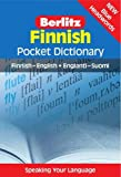 Finnish Berlitz Pocket Dictionary (Berlitz Pocket Dictionaries): Finnish-English = Englanti-Suomi