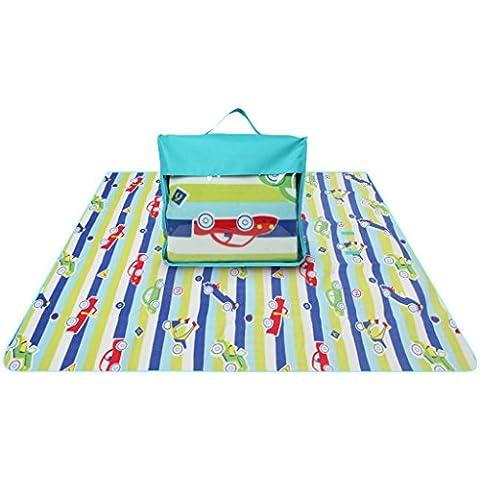 almohadilla de la humedad al aire libre engrosamiento pilotes alfombra alfombra alfombra de picnic hierba gira de tejido de lana