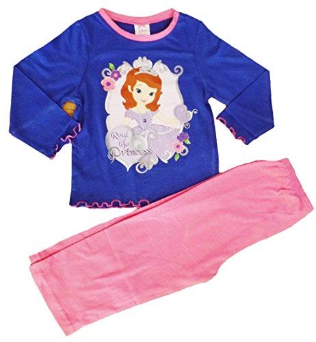 Infantil-de-nios-y-nias-de-manga-larga-Character-pijama-Pjs-en-nios-edad-1-10-aos