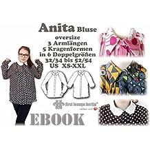 Anita Nähanleitung mit Schnittmuster auf CD für Bluse Hemd in vielen Variationen