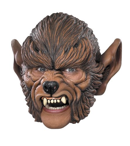 Cesar–g934–001–Kostüm–Maske Wolf GAROU Erwachsene (Vollmond Werwolf Kostüme)
