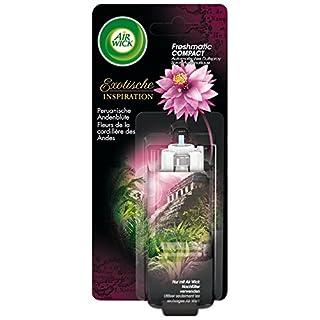 Air Wick Freshmatic Compact Automatisches Duftspray Nachfüller, Peruanische Andenblüte, 2er Pack (2 x 24 ml)