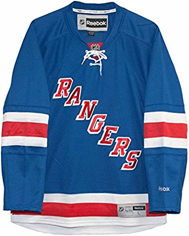 NHL New York Rangers Royal Premier Jersey (Reebok)