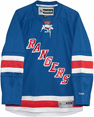 Reebok NHL NEW YORK RANGERS Premier Home Trikot, Größe:L (Fußball Rangers Trikot)