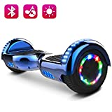 COLORWAY Hoverboard 6.5inch E-Skateboard 2 x 350W Smart Scooter con LED Monopattini Elettrici Autobilanciati