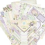 coil.c Hintergrundpapier Scrapbooking Papier Mit Vintage Design, 6-Zoll...