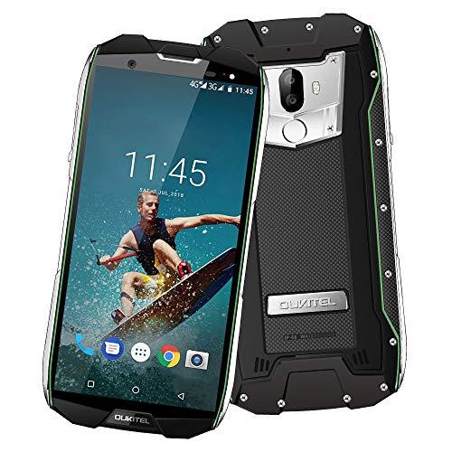 "OUKITEL WP5000 4G LTE Ohne Vertrag Smartphone,6GB RAM+64GB ROM,5,7 "" 18: 9 FHD+,Android 7.1(IP68 Wasserdicht, Staubdicht, Stoßfest) Helio P25 Rugged Outdoor Handy,16MP + 5MP+8MP Kameras,5200 mAh,GPS"