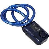 kkmoon Bluetooth Smart Lock–Cuerda Anti Robo Alarma Keyless Teléfono App control Smart Lock 80cm