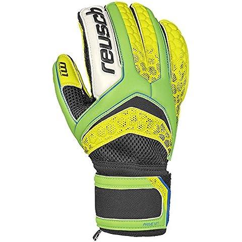 Reusch RE: Pulse Prime M1portero guante, todo el año, hombre, color Green Gecko/Safety Yellow, tamaño 7.5