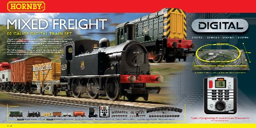 Hornby R1126 Mixed Freight 00 Gauge DCC Electric Train for sale  Delivered anywhere in Ireland