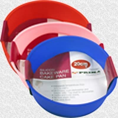 20cm Silicone Round Cake Mould Available In 3 Colours