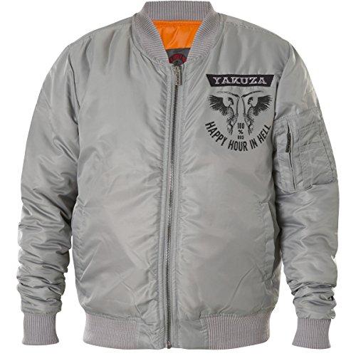 Yakuza Bomberjacke Herren Jacke Happy Hour Jacket JB 8047 cloudburst