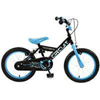 Townsend Boy Circuit Rigid Bike, Blue/Black, 16-Inch