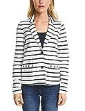 Cecil Damen Anzugjacke 210701, Mehrfarbig (Pure Off White 20125), 38 (Herstellergröße: M)