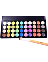 FASH Professional 40 Color Shimmer Eyeshadow Palette Cosmetics, Makeup, mineral Makeup