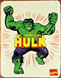 Incredible Hulk steel sign