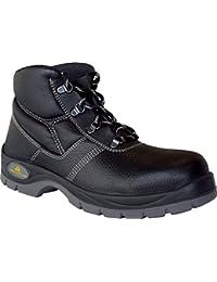 Delta plus calzado - Juego bota piel jumper2 s3 negro talla 43(1 par)