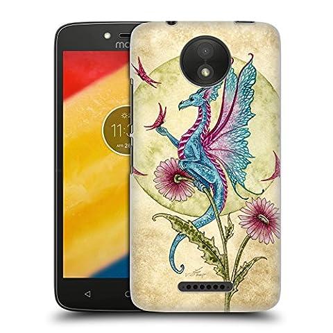 Officiel Amy Brown Rêverie De Papillon Mythique Étui Coque D'Arrière Rigide Pour Motorola Moto C