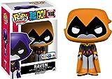 Funko 9508–Figura Teen Titans Raven, Naranja