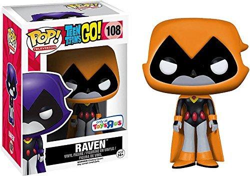 Teen Titans Go Raven Orange Vinyl Figure 108 Figura de coleccin