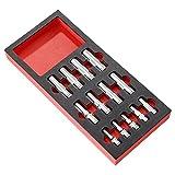 FACOM Modul mit 13 langen Steckschlüssel 3/8 und1/2 Zoll metrisch, Schaumstoffeinlage, 1 Stück, MODM.HLA
