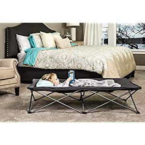Regalo My Cot Extra Long Portable Bed, Gray, Includes Fitted Sheet and Travel Case   4