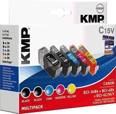 KMP Printtechnik AG C15V Promo Pack BK/C/M/Y, 0958,0050