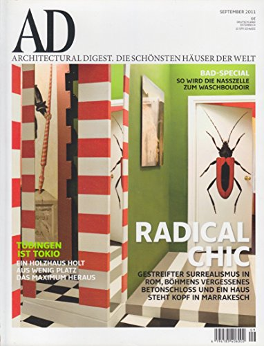 AD ARCHITECTURAL DIGEST 9/2011