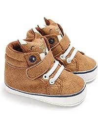 Zapatos de niños, calzados/zapatillas/sandalias de niños Zapatos lindos del paño grueso y suave de la suela del bebé del diseño lindo del Fox como regalo de la Navidad para el invierno del otoño