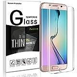 Galaxy S7 Edge Displayschutzfolie,Parsion Anti-Fingerabdruck Panzerglas Für Samsung Galaxy S7 Edge, Härte 9H Panzerglas Schutzfolie für Samsung Galaxy S7 edge (Clear)