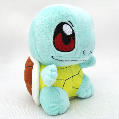 "Image of Squirtle Pokemon 6"" Plush Doll Toy"